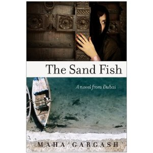 The sand fish a novel from dubai by maha gargash the cube for Book with fish on cover