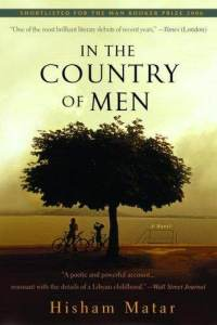 In the Country of Men by Hisham Matar book cover