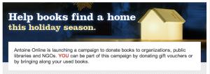 Antoine Online Donation for Christmas