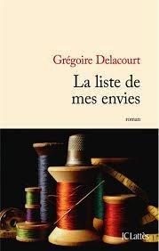 La Liste de mes envies, Grégoire Delacourt
